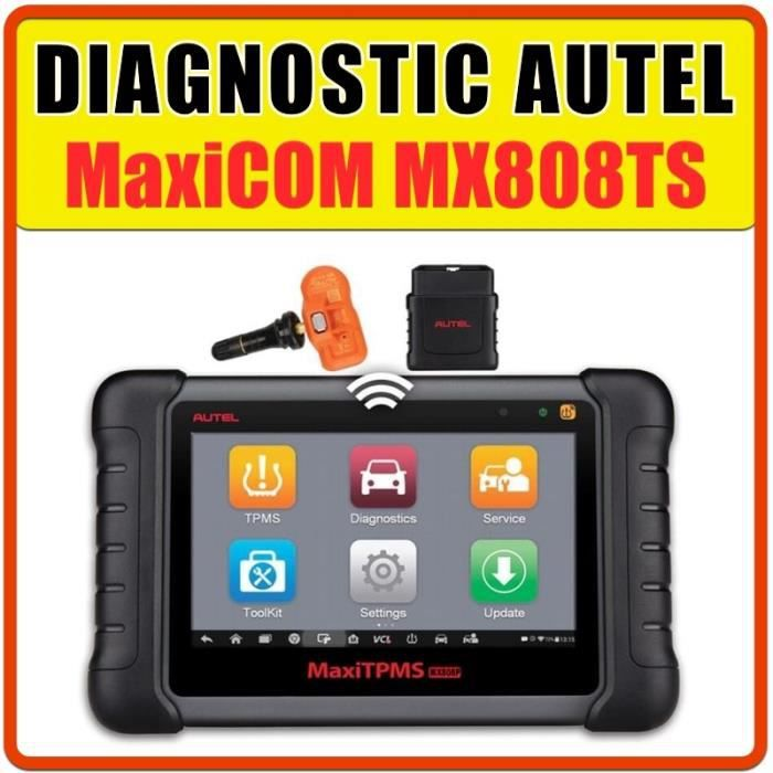 Valise de diagnostique professionnelle AUTHENTIQUE AUTEL MX808TS MULTIDIAG