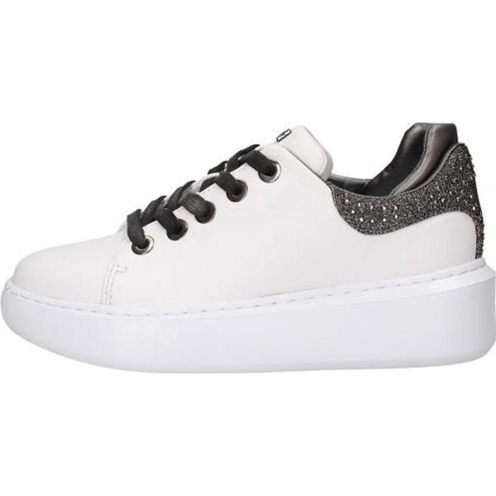 Guess FL5YL2LEA12 chaussures de tennis Femme blanc