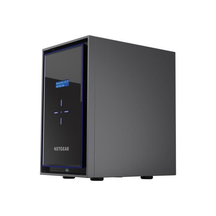 NETGEAR Système de stockage SAN/NAS ReadyNAS RN426 - 6 x Total de compartiments - Intel Atom Quad-core - 4 Go RAM