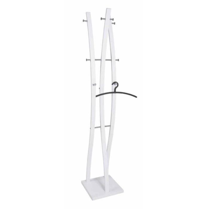 Porte-manteaux Design -jenal- 180cm Blanc - Paris Prix