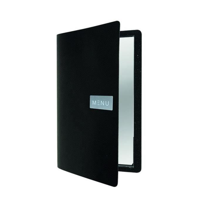 Protège-menu cuir noir EGO 0,5 Cuir
