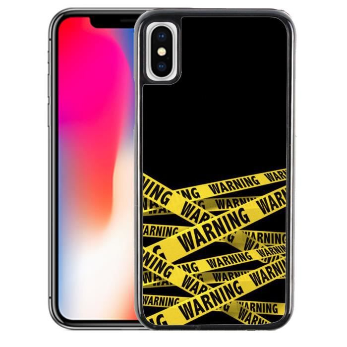 Coque iPhone XR - Warning