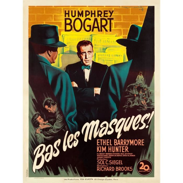 [LE TOPIC A LA CON] le dernier qui poste... poste - Page 17 Bas-les-masques-repro-poster-cinema-60x80