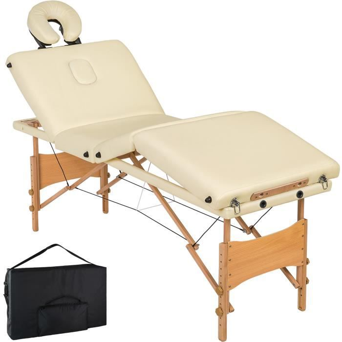 Table massage pliante achat vente table massage pliante pas cher cdiscount - Table de massage pliante bois ...