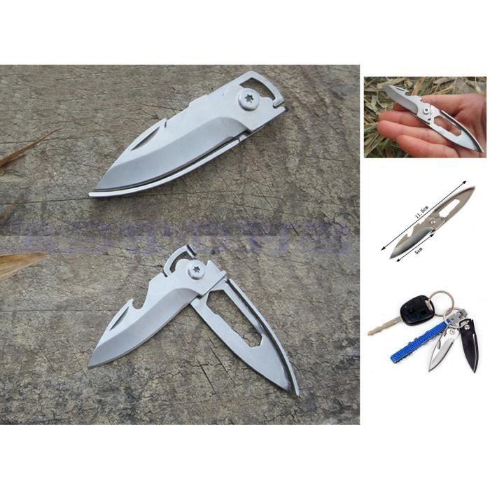 Porte cle-couteau survie-étui-couteau-couteau de poche-survie-securité