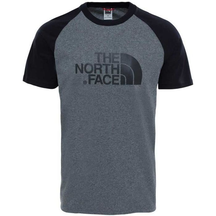 2d1e77c734 Vêtements homme T-shirts casual The North Face S-s Raglan Easy Tee ...