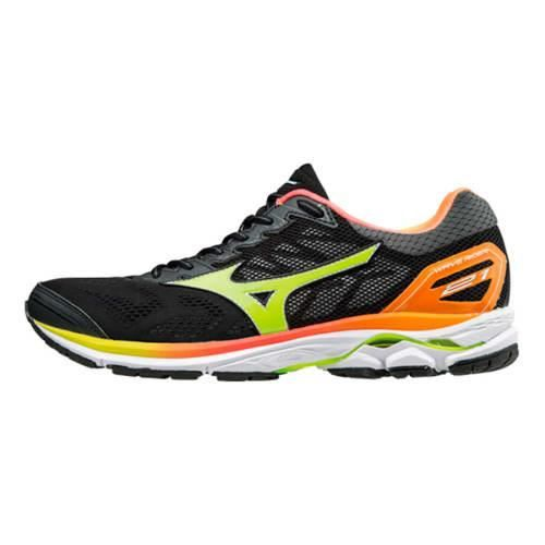 4a9885db514 Chaussures Mizuno Wave Rider 21 Osaka gris multicolore femme - Prix ...