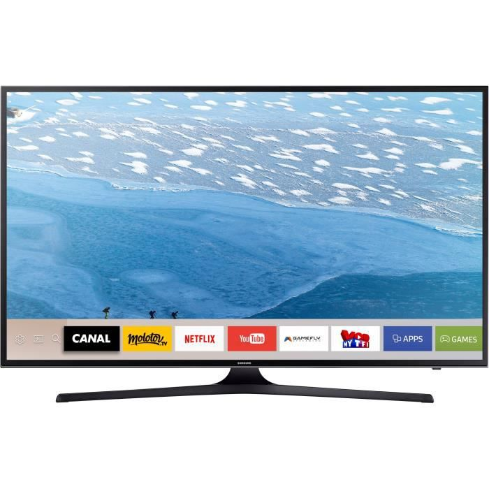 samsung ue55ju6070 tv led 4k uhd 138 cm 55 smart televiseurspaschers. Black Bedroom Furniture Sets. Home Design Ideas