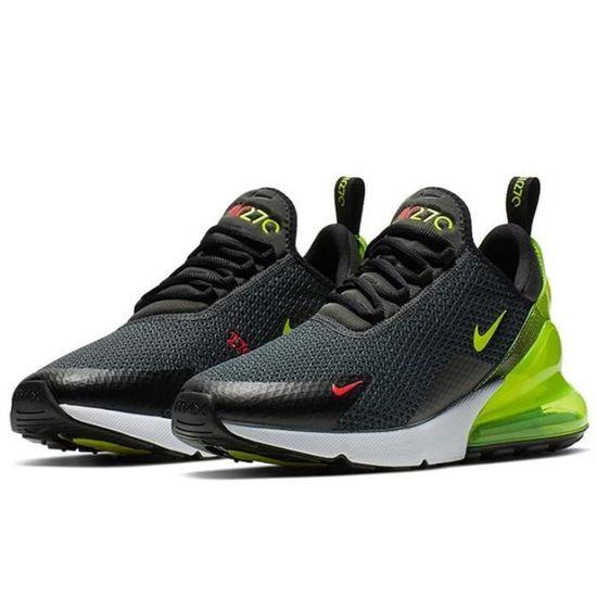 Nike Air Max 270 Chaussure pour Homme NOIR VERT Achat