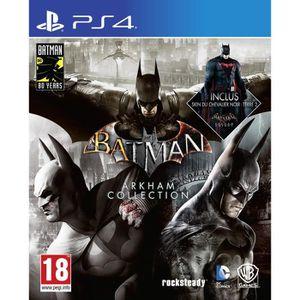 JEU PS4 BATMAN: Arkham Collection Jeu PS4