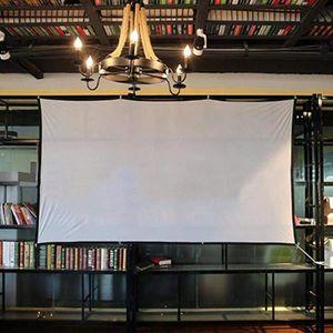 ECRAN DE PROJECTION 72po 4: 3 Projecteur Écran vidéo portable grand éc