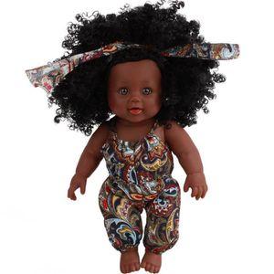 POUPÉE Fille poupée afro-américaine réaliste poupées de j