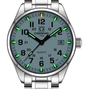 MONTRE Carnival Pasoy Tritium Montre Green Light de natat