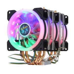 VENTILATION  SMRT TEMPSA Ventilateur Processeur RGB LED 4 Pin P