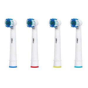 BROSSE A DENTS ÉLEC 4pcs brossettes Précision Clean Oral B Générique B