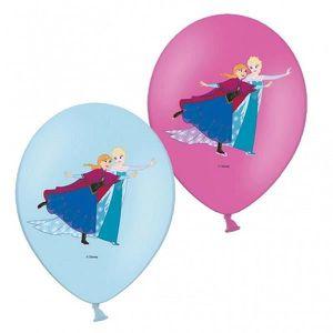 BALLON DÉCORATIF  Sachet de 6 Ballon Disney La Reine des Neiges - Fr