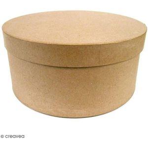 Support à décorer Boîtes Rondes Chapeau à décorer - 33 x 16 cm - 3 p