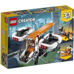 ASSEMBLAGE CONSTRUCTION LEGO® Creator 31071 Le drone d'exploration - Jeu d