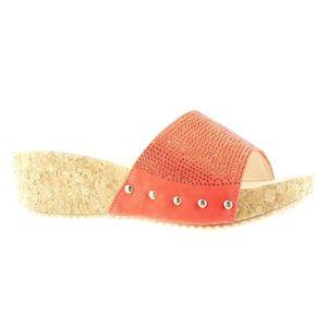 BOTTINE Angkorly - Chaussure Mode Mule Sandale plateforme