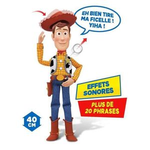 FIGURINE - PERSONNAGE TOY STORY Figurine Parlante Woody 40cm