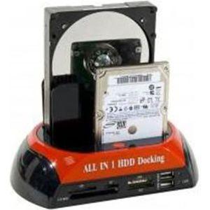 STATION D'ACCUEIL  DOCKING STATION MIXTE SATA-IDE-USB-eSATA+LECTEUR