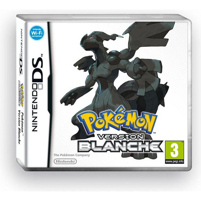 Black and gold games jeu nintendo 3ds pokemon noir et blanc - Jeux pokemon noir et blanc ...