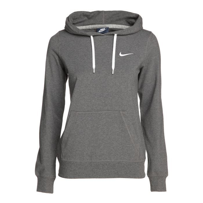 nike sweat capuche femme gris achat vente sweatshirt cdiscount. Black Bedroom Furniture Sets. Home Design Ideas