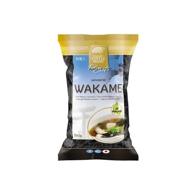 Algues Japonaise Wakame séchées 100g - 100% naturelles