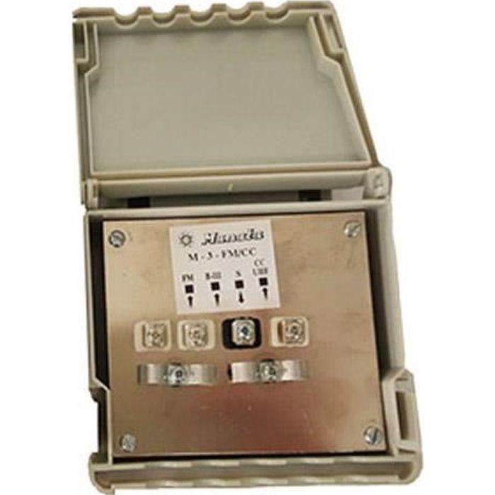 Coupleur 3 entrées VHF/UHF/FM - Manata