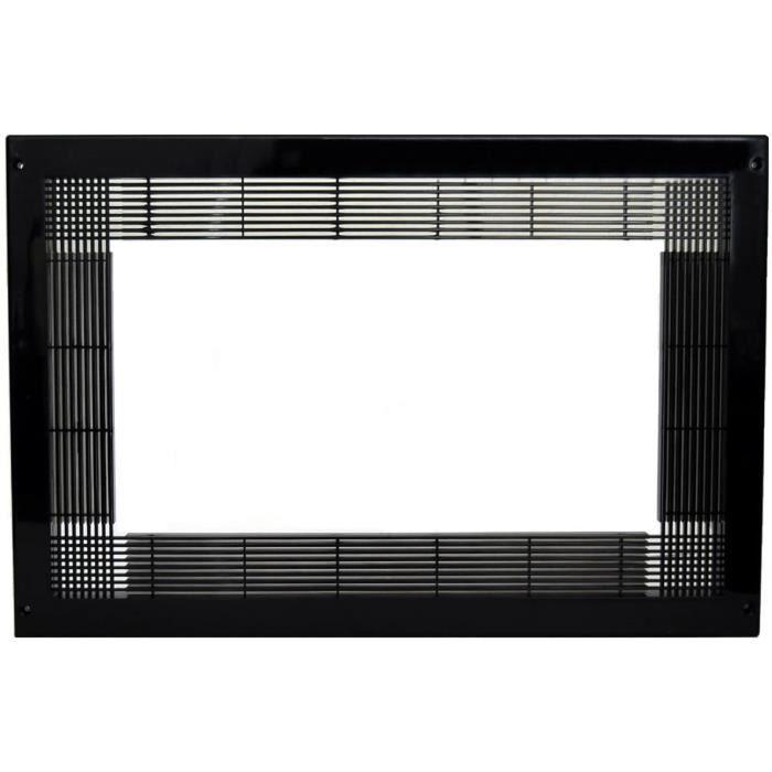 cadre pour micro-ondes noir 94507