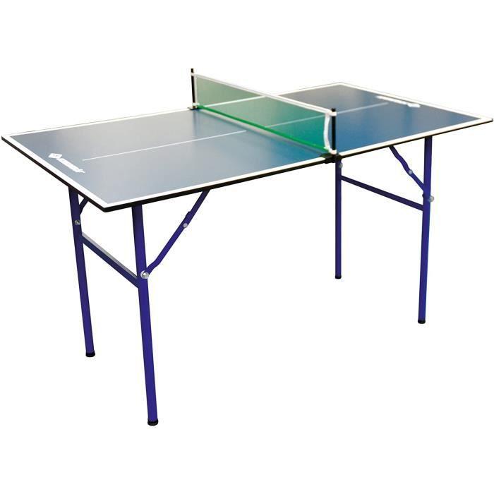 TABLE DE TENNIS DE TABLE Donic-Schildkr&oumlt Table de Ping Pong Midi XL, 120 x 70 x 68 cm, Pliable, Parfait pour Un Petit Jardin5
