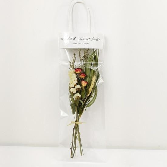 Décoration florale,Bouquet de fleurs séchées naturellement,Rose,marguerite,tournesol,ins,pour anniversaire,noël - Type 12