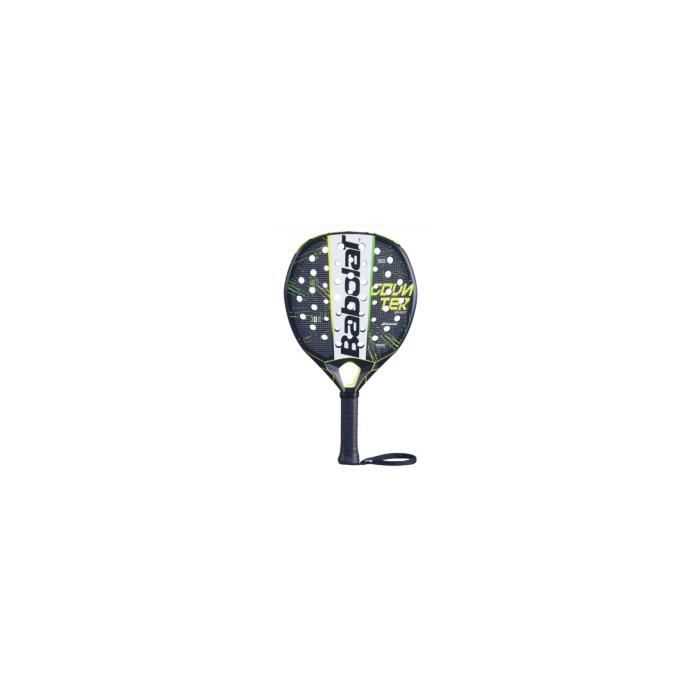 Raquette Padel BABOLAT COUNTER VERON Noir / Jaune / Vert (365 g) 2020
