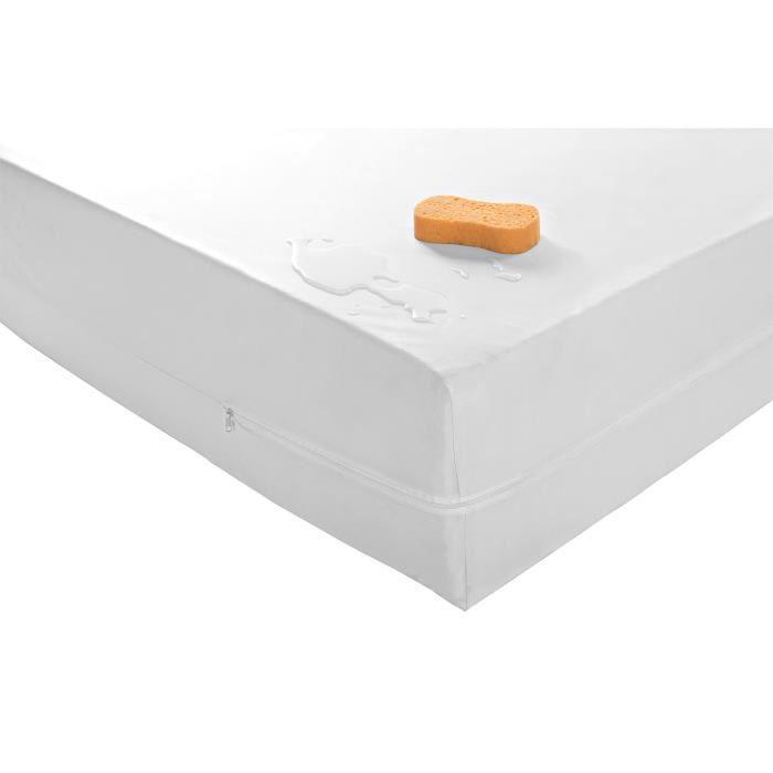 Housse matelas PVC imperméable- 140 x 190 cm
