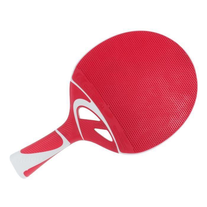 Raquette tennis de table Tacteo 50 rouge
