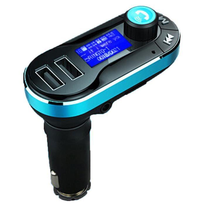 Kit Voiture Bluetooth Transmetteur FM avec Micro