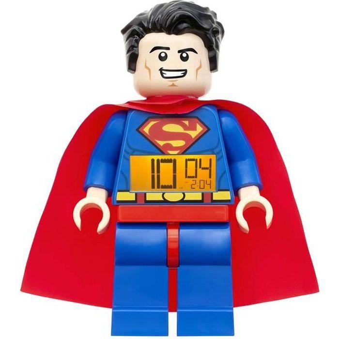 Réveil Superman parlant et rétroéclairé - 21 cm