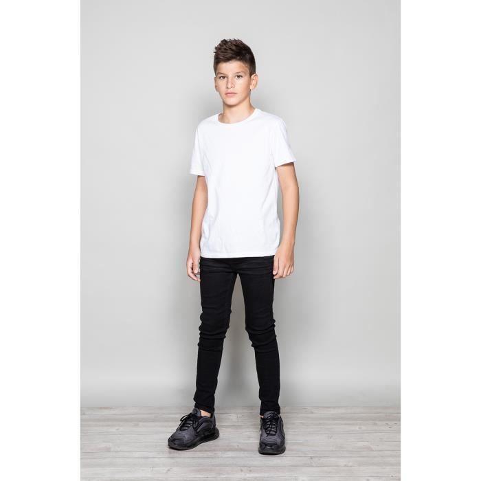 STRIPHTML(Jeans noir skinny BLACK - Couleur - Black, Taille - 10)