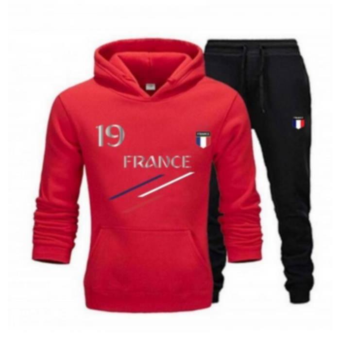 Jogging France 2 étoiles enfant rou