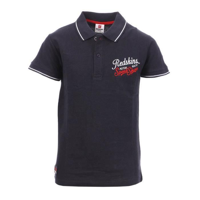 Polo Bleu Garçon Redskins 3052 JR