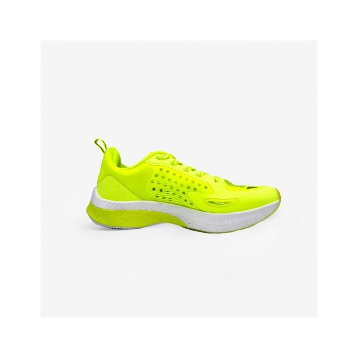 Chaussures de running Peak UP30 - jaune fluo - 40