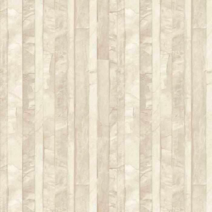Papier peint Ardoise en lamelles beige