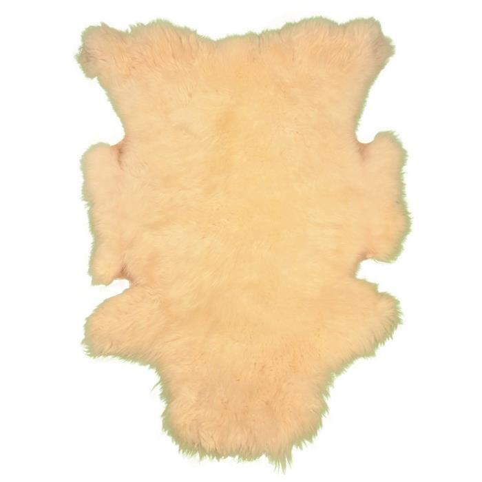 VADIGRAN Peau de mouton - 90-110cm - Blanc - Pour chien