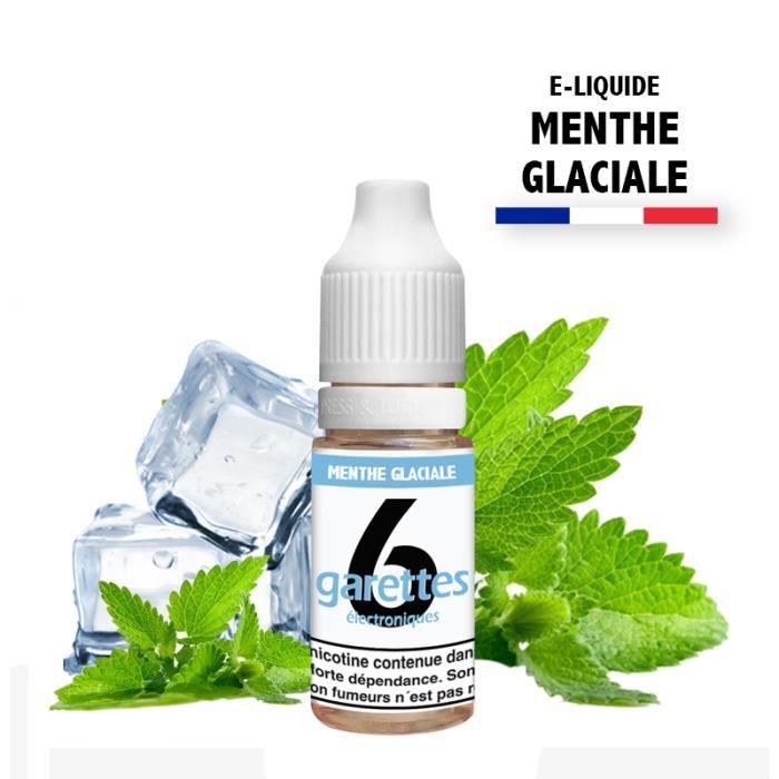 E-liquide 10ML saveur MENTHE GLACIALE sans nicotine (e-liquide id : PRD38) - (1x10ML)