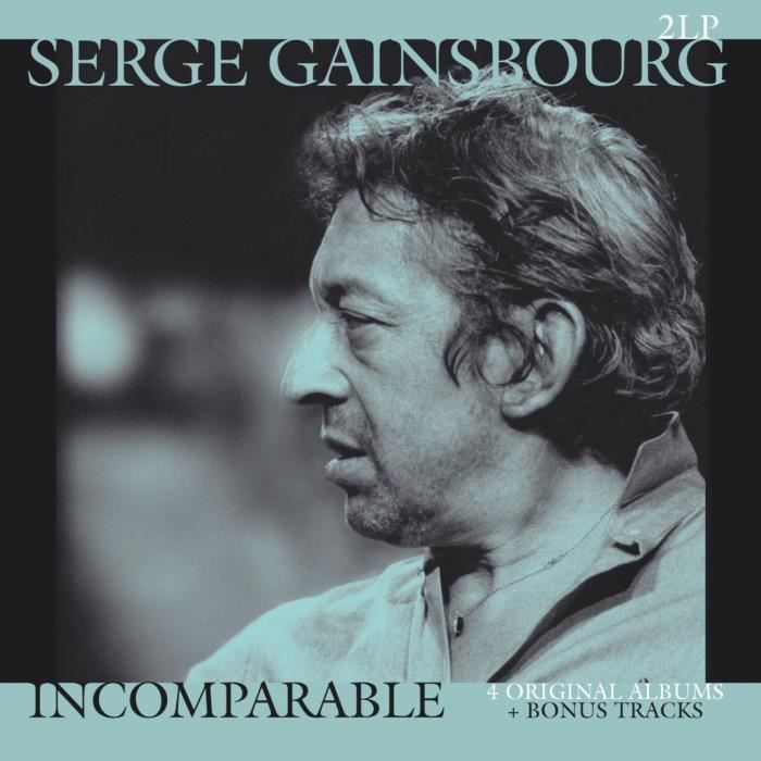SERGE GAINSBOURG Incomparable - 33 Tours - 180 grammes
