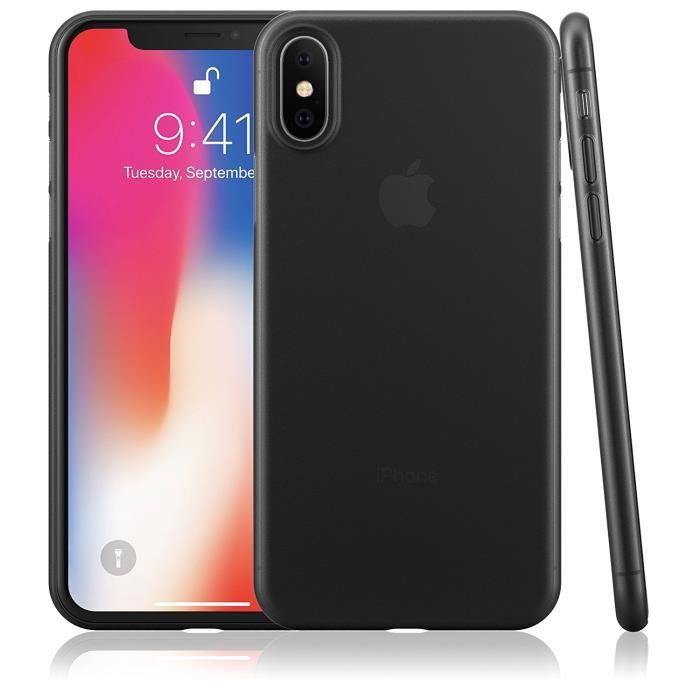 coque iphone x ultra fine 0 35 mm et anti rayure