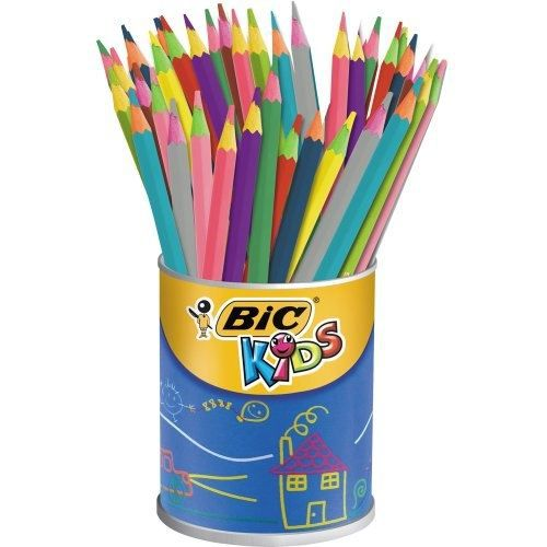 bic kids evolution circus pot de crayons de cou achat vente crayon de couleur bic kids. Black Bedroom Furniture Sets. Home Design Ideas