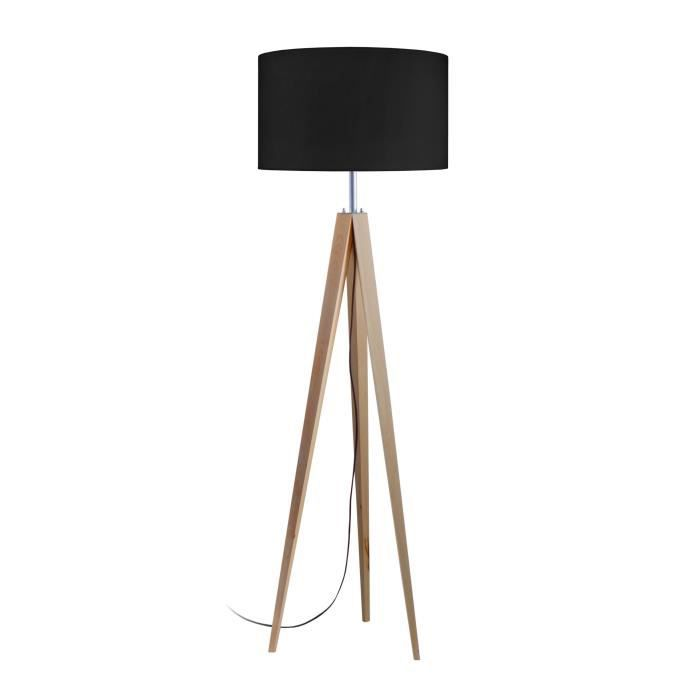 lampadaire pied bois achat vente lampadaire pied bois. Black Bedroom Furniture Sets. Home Design Ideas