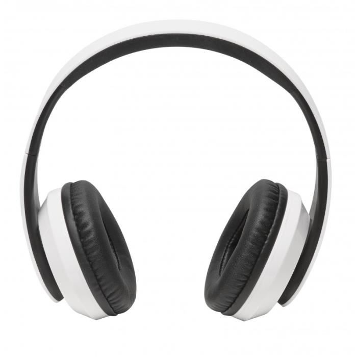 Casque Sans Fil Bluetooth - Denver Bth-203 Blanc