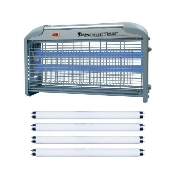Mini Insecticide pour la prise électrique UV DEL Lampe insectes mouches piège